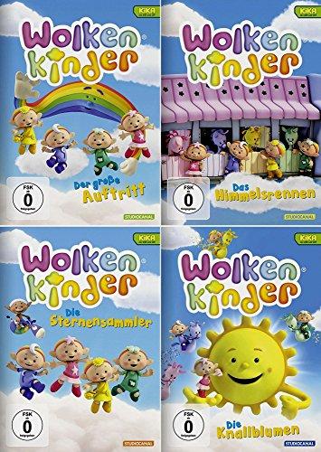 Wolkenkinder Collection | Auftritt + Himmmelsrennen + Sternensammler + Knallblumen (4-DVD)