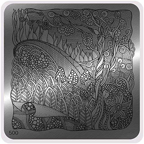 Moyou Nails Fairy Tales Style stamping nail art Image Plate, facile d'utilisation