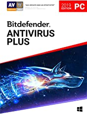 Bitdefender Antivirus Plus 2019 - Inkl. VPN - 2 Jahre / 1 Gerät für PC
