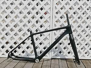 """UD Carbon Matt 26er Mountain Bike Frame 18"""" MTB FRAME FOR BSA + Carbon Bicycle FORK 26"""""""