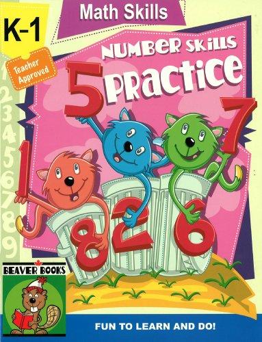 K - 1 Math Number Skills Designed to Reinforce Essential Math Skills Teacher ...
