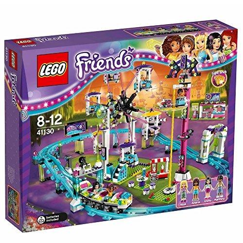 LEGO Friends Amusement Park Roller Coaster Construction Set 41130 by LEGO