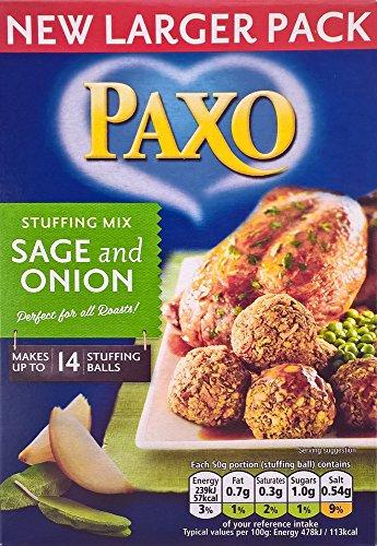 Paxo Sage e cipolla ripieno Mix - 6 x 190g