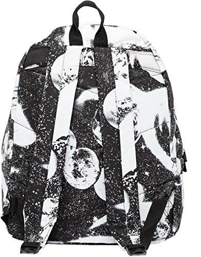 Hype Rucksack, Tasche Screenprint Space Black/White