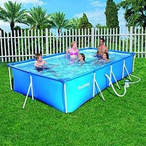 piscine hors sol tubulaire rectangulaire 4m x 2 11m x 0. Black Bedroom Furniture Sets. Home Design Ideas