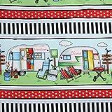 Henry Glass Baumwoll-Quiltstoff für Wohnwagen, Wohnmobil,