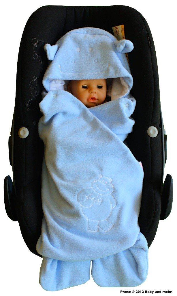ByBoom® – Manta para envolver al bebé para el período de transición y el verano, para el asiento del bebé en el coche…