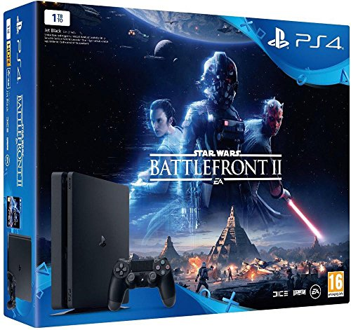 PS4 Slim 1 To + Star Wars Battlefront II
