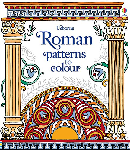 Roman Patterns to colour