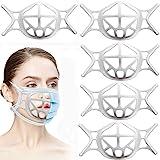Support de visage en silicone 3D, support de protection pour le visage pour un espace respirant plus confortable, support de