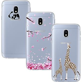 cover samsung j3 2017 silicone panda