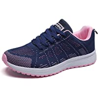 Minbei Womens Sneakers Lightweight Lady Trainers Breathable Woman Running Shoes Daily Walking Outdoor Fitness Athletic…