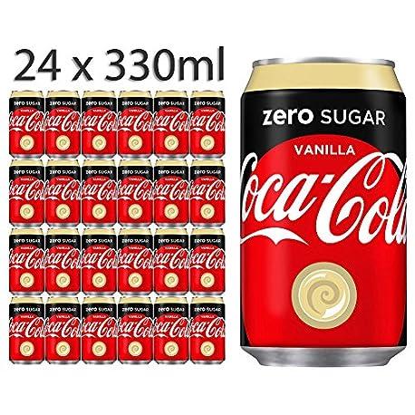 Coca Cola Zero Sugar Vanilla 330ml x 24