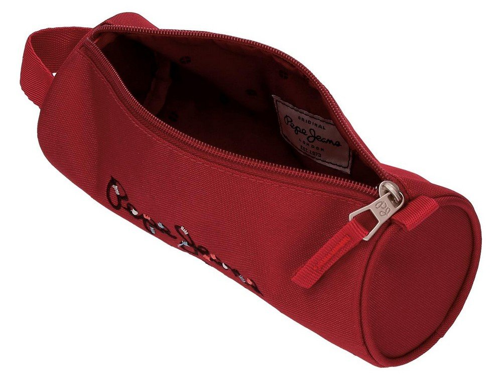 61oFSAl98TL - Pepe Jeans Harlow Mochila Escolar, 42 cm, 22.79 litros, Rojo
