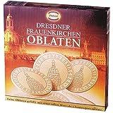 Dresdner Frauenkirchen Oblaten - Waffelgebäck gefüllt mit Sahne Karamel Creme de Champanger - 100g