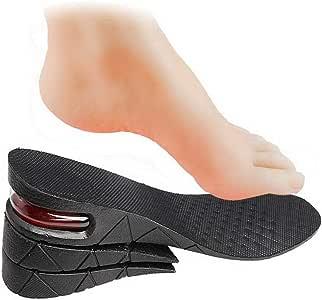 Zhiye Semelle intérieure augmentant la hauteur de la chaussure 3 cm 5 cm 7 cm semelle intérieure rehaussée à 3 couches pour coussin d'air