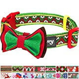 Blueberry Pet Halsbänder für Hunde 2,5cm L Weihnachts-
