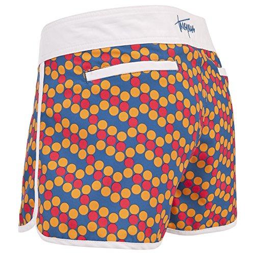 Trespass Mona - Pantaloncini da surf, da donna Giallo - Sunflower Dot
