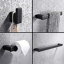 Turs 4 Piezas Juego de accesorios de baño SUS 304 acero inoxidable  Sostenedor del papel higiénico 41190d5a7378