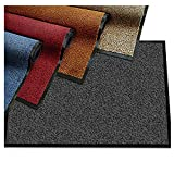 ETM - Felpudo moteado muy absorbente, alfombra de entrada, interior y ..