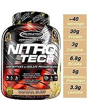 Muscletech Performance Series Nitrotech – 4 lbs, 1.81 kg (Banana Bliss)