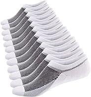 Sneakersokken voor Heren, Niet Zichtbare Sokken, Korte Katoene Sportsokken, Onzichtbaar Instappers sokken, Sil