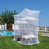 Mokito Rechteckiges Moskitonetz für Einzelbetten Travelline Single 100. Perfekter Mücken- und Insektenschutz für Einzelbetten.