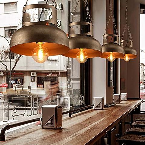 TYDXSD Araña vintage Industrial Restaurante Bar Cafetería gas de hierro candelabro personalidad creativa Hotel pasillo candelabros