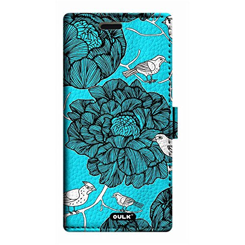 OULK(R) Apple iphone 7 4.7 inch PU Litchi Leather Pink Black Zebra Print Stripe Flowers Wallet Kickstand Case For iphone 7 4.7 (MD15) MD1