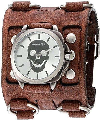 Nemesis Unisex-Adult Analog Japanese-Quartz Watch with Patent Leather Strap BFWB935S