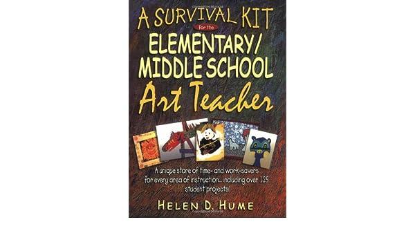 A Survival Kit For The Elementarymiddle School Art Teacher J B Ed