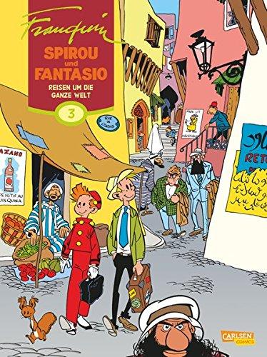 Spirou & Fantasio Gesamtausgabe 3: Einmal um die Welt
