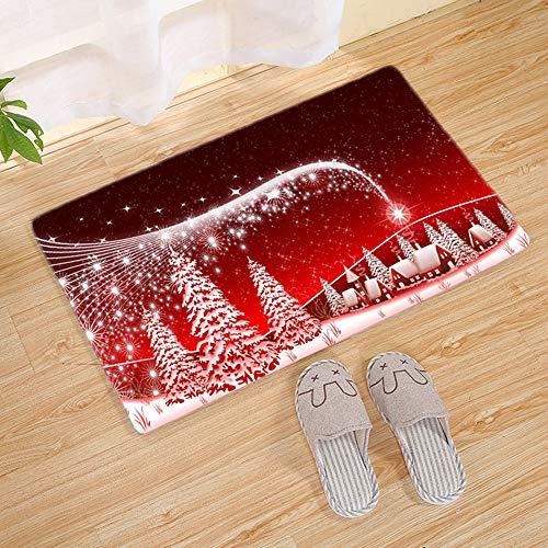 Xueliee Merry Felpudo Navidad diseño Papá Noel muñeco
