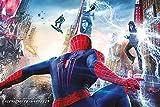 The Amazing Spider-man 2Schlacht Maxi Poster, Mehrfarbig