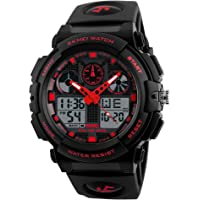Skmei S-Shock Multi-Functional Analog Digital Sports Watch for Men's & Boys