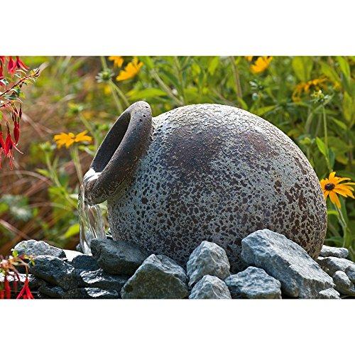 Ubbink Orange Springbrunnen Gartenbrunnen Terrassenbrunnen AMphore Antik Design Shabby chic 1308280