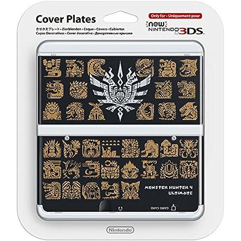 Nintendo - Cubierta Monster Hunter 4, Color Negro (New Nintendo 3Ds)