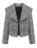 Mantel Damen Parka Übergangsjacke Jacke Blazer Trenchcoat Coat warm Outwear kurz