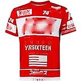YSYFZ-Outdoor Cyclisme Velo de Sport Maillot Chemise a Manches Courtes Velo de Montagne Service de Moto Hors Route t-Shirt a