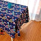BLUELSS Betten Outlet endlose Blume Tischdecke aus Polyester Tischdecke Dekoration Table Cover elegante Pastorale