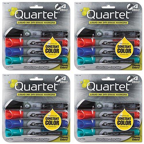 cuarteto-marcadores-de-borrado-en-seco-enduraglide-punta-cuadrada-bold-color-varios-colores-4-unidad