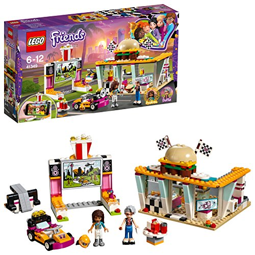 LEGO 41349 Friends Drifting Diner Building Set Best Price and Cheapest