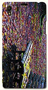 Great multicolor printed protective REBEL mobile back cover for Sony Xperia Z1 C6902/L39h D.No.N-R-2473-S39