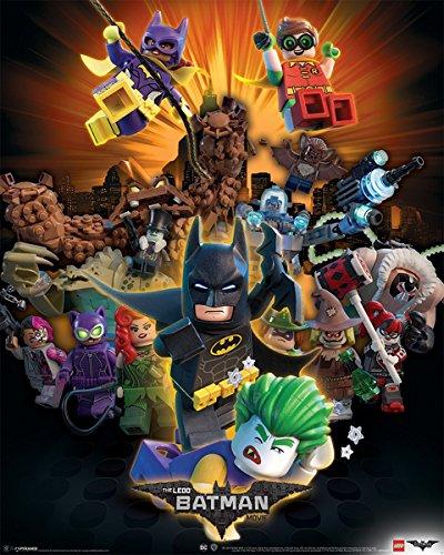 Pyramid International Boom Lego Batman Mini-Poster, Kunststoff/Glas, Mehrfarbig, 40x 50x 1,3cm - Mini-poster