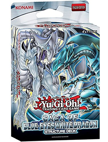 Yu-Gi-Oh! Saga of Blue Eyes White Dragon Structure Deck [Importato da UK]