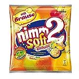 nimm2 soft Brause – Ploppende Bonbons mit aufregender Brause-Füllung als Naschspaß für die ganze Familie – 10 x 195g Beutel