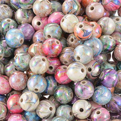 souarts-mixte-multicolore-acrylique-boules-perles-intercalaires-lot-de-300pcs