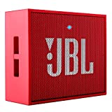 #9: JBL Go Portable Wireless Bluetooth Speaker with Mic (Red)