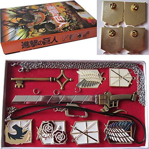 DuHLi Ataque a la Caja de la colección de Joyas de titán con 2 llave