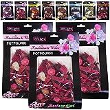 3er Pack Potpourri Raumduft in der Big Box Auswahl: Kirschblüten-Wicken